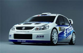 Suzuki будет участвовать в WRC в 2007 году
