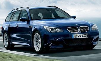 Универсал BMW 5-Series получит мотор от M5