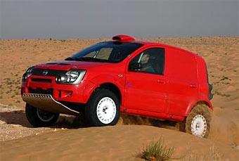 Бывший чемпион WRC поедет в Дакар на Fiat Panda