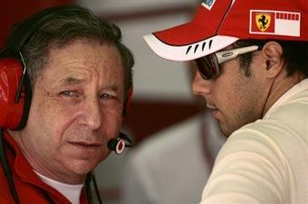 Руководство Ferrari не довольно результатом Массы