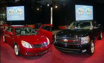 Модели GM победили в конкурсах Автомобиль и Внедорожник года в США
