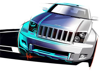 В Детройте Jeep представит внедорожник со складной крышей