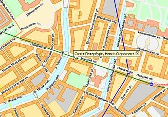 Поврежденный кабель остановил движение по Невскому проспекту
