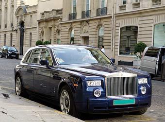 Состоятельные люди считают Rolls-Royce самым роскошным автомобилем