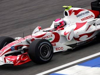 Новый болид Super Aguri провалил краш-тест FIA