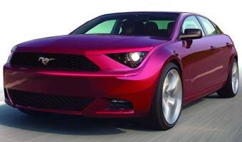 Ford готовит седан и универсал на базе Mustang