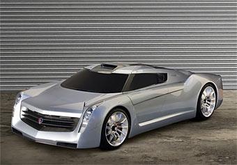 GM разработал 650-сильный суперкар с авиационным двигателем