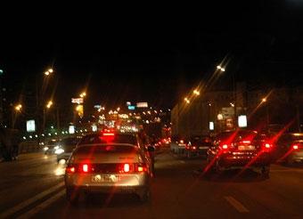 Основные магистрали Москвы получат новое освещение