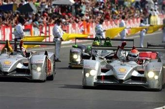 Дизельный Audi выиграл 24 часа гонки Ле Мана