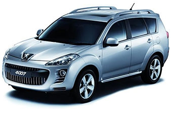 Peugeot показал свой первый внедорожник