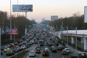 В Москве ограничили движение в районе Ленинградского проспекта