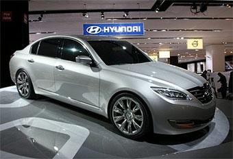Hyundai покажет большой седан за три дня до Нового года