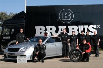 """""""Самый быстрый седан в мире"""" от Brabus установил новый мировой рекорд"""