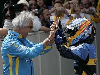 Руководитель Renault на 60 процентов договорился с Алонсо