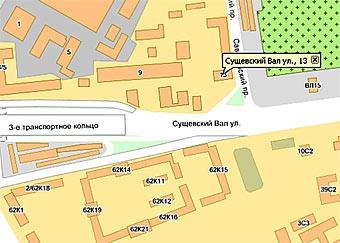 На Третьем транспортном кольце Москвы провалился асфальт