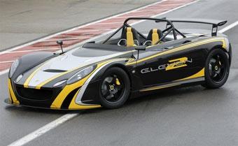 Lotus представит в Женеве сверхлегкий гоночный автомобиль