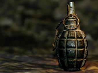 Угонщики лесовоза применили против милиции гранату