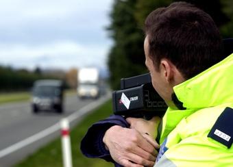 Начальник дорожной полиции может лишиться работы за превышение скорости