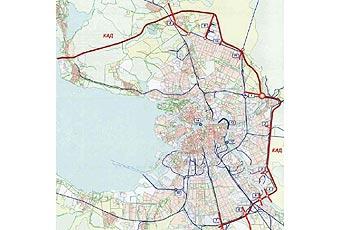 В Петербурге открыли первую очередь кольцевой автодороги