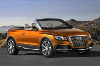 Audi представила концептуальный кроссовер без крыши