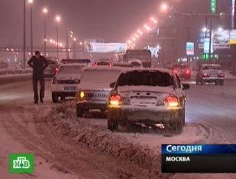 Опровержение: Водителей машин на летних шинах не заставят чистить московские дороги