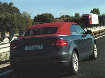 Кабриолет Audi A3 приступил к тестам