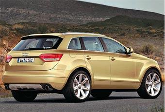 Audi откладывает показ новых моделей Q5 и Q7 до 2009 года