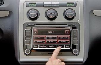 С 2008 года все модели VW получат сенсорные дисплеи