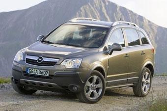 Opel начал в России выпуск внедорожника Antara