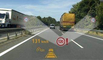 Siemens VDO научил машину следить за соблюдением скорости