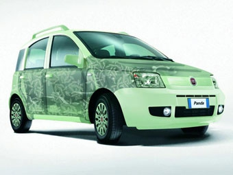 "Fiat привезет во Франкфурт ""экологически чистую"" Panda"
