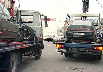 C начала года в Москве эвакуировали более 90 тысяч машин