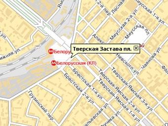 На площади Тверской заставы ограничено движение