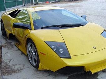 Американец разбил свою Lamborghini через несколько часов после покупки