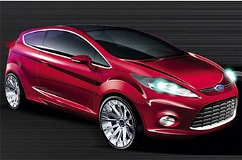Прототип новой Ford Fiesta покажут во Франкфурте