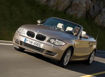 BMW представила открытую версию купе 1-Series