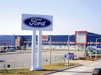 Рабочие российского завода Ford снова бастуют