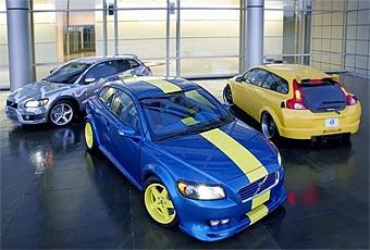В Лас-Вегасе Volvo показала три версии хэтчбека C30