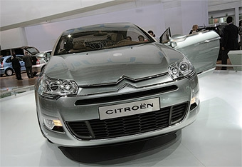 Новый Citroen C5 покажут через месяц
