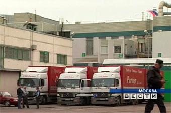 С 2008 года для неэкологичных грузовиков запретят въезд в центр Москвы