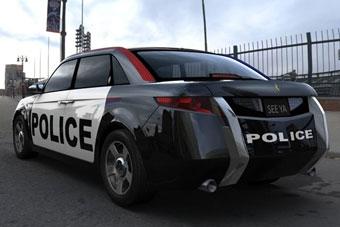 Американцы совместно с Lotus создали новую полицейскую машину