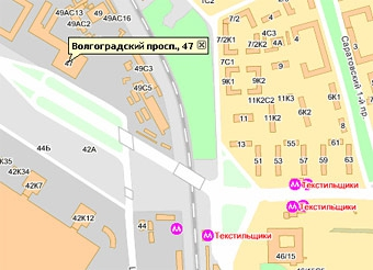 Движение по Волгоградскому проспекту затруднено из-за аварии трубопровода