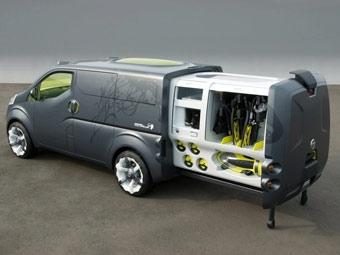Nissan представил передвижной офис