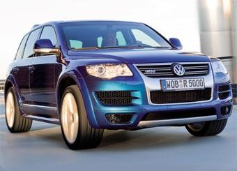"""""""Заряженный"""" VW Touareg R50 получит 350-сильный дизель"""