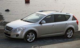Kia начинает в России продажи универсала Cee'd