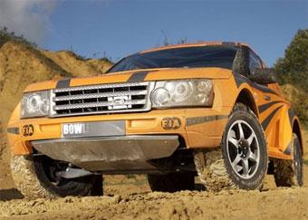"""Bowler разработал для """"Париж-Дакара"""" свою версию Range Rover"""