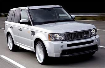 Range Rover Sport получил оригинальный стайлинг-пакет