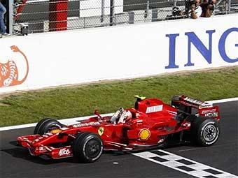 Кими Райкконен стал победителем Гран-при Бельгии