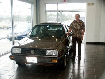 VW нашел в США дизельную машину с самым большим пробегом
