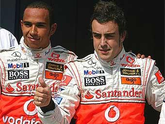 McLaren заставит Гамильтона и Алонсо помириться